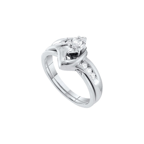 Bridal Set with 0.24 Carat TW  #16990100 - C Diamond King