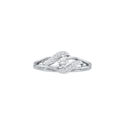 Cluster Bridal Ring with 0.15 Carat TW #18387100 - C Diamond King