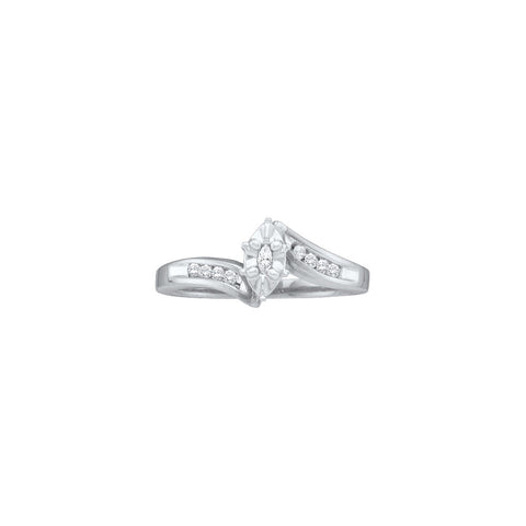 Bridal Ring with 0.17 Carat TW  #23052100 - C Diamond King