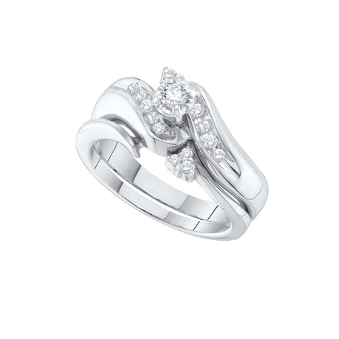 Bridal Set with 0.25 Carat TW  #26507100 - C Diamond King