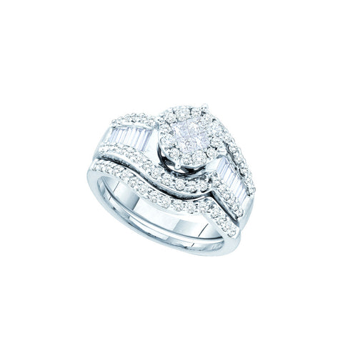 Bridal Set with 1.24 Carat TW  #46317100 - C Diamond King