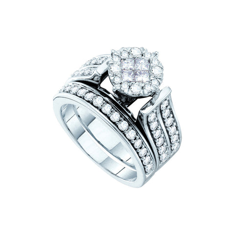 Bridal Set with 1.36 Carat TW  #46321100 - C Diamond King