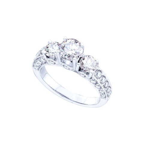 Bridal Ring with 2.50 Carat TW  #48491100 - C Diamond King
