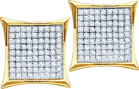 0.20CTW DIAMOND MICRO PAVE EARRING #50113200 - C Diamond King