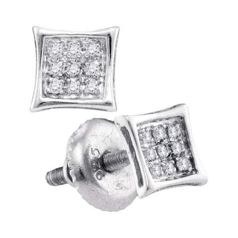0.05CTW DIAMOND MICRO PAVE EARRINGS #57289200 - C Diamond King
