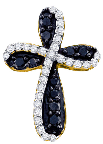0.97CTW DIAMOND CROSS CHARM #62325300 - C Diamond King