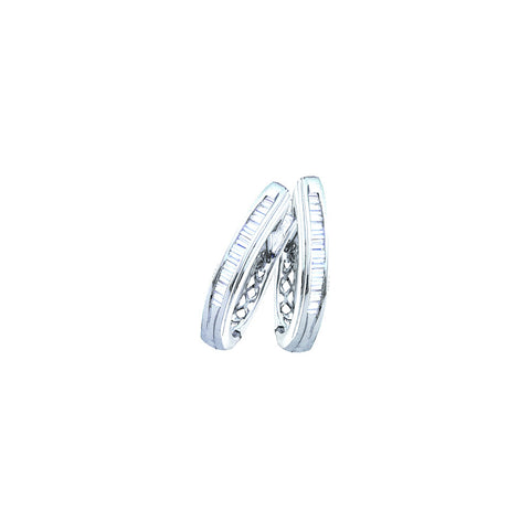 0.25CTW DIAMOND FASHION HOOPS #62837200 - C Diamond King
