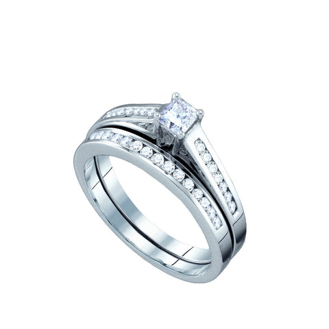Bridal Set with 0.50 Carat TW  #63923100 - C Diamond King