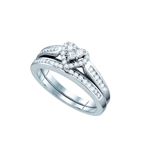 Bridal Set with 0.50 Carat TW  #66734100 - C Diamond King