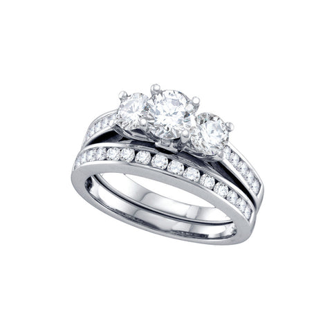 Bridal Set with 1.00 Carat TW  #68719100 - C Diamond King