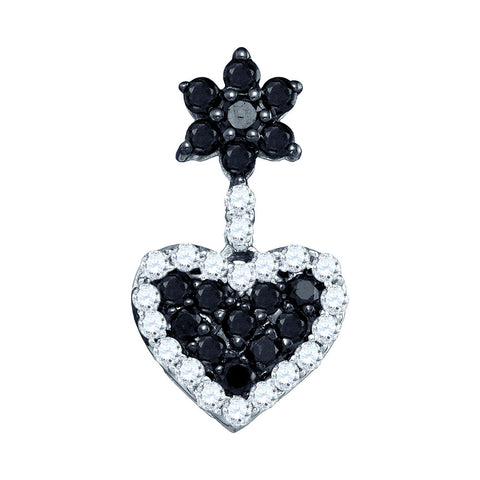 0.50CT DIAMOND HEART PENDANT #75048300 - C Diamond King
