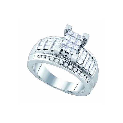 Bridal Ring with 0.90 Carat TW  #78921100 - C Diamond King