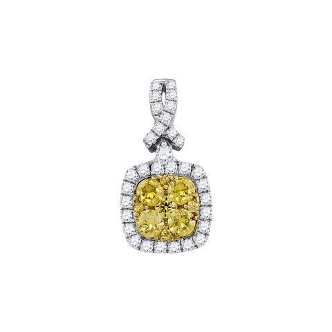 1.02CTW DIAMOND FASHION PENDANT #91493300 - C Diamond King