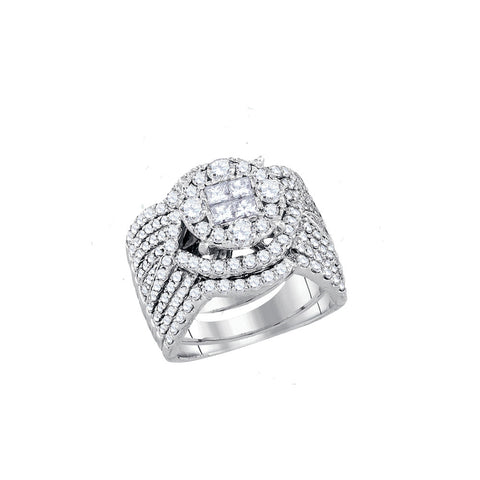 Bridal Set with 2.52 Carat TW  #91629100 - C Diamond King