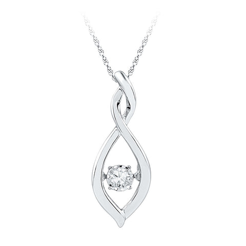0.03CTW DIAMOND FASHION PENDANT #97044300 - C Diamond King