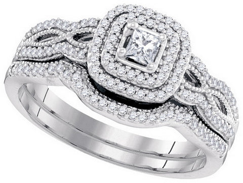 Bridal Set with 0.40 Carat TW  #98599100 - C Diamond King