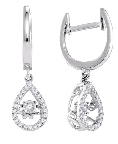 0.25CTW DIAMOND FASHION EARRINGS #98741200 - C Diamond King