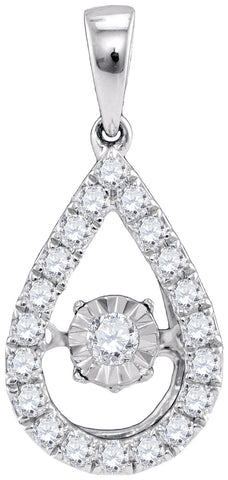 0.31CTW DIAMOND FASHION PENDANT #98796300 - C Diamond King