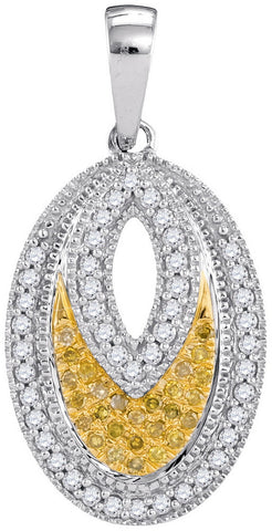 0.20CTW DIAMOND MICRO-PAVE PENDANT #99330300 - C Diamond King