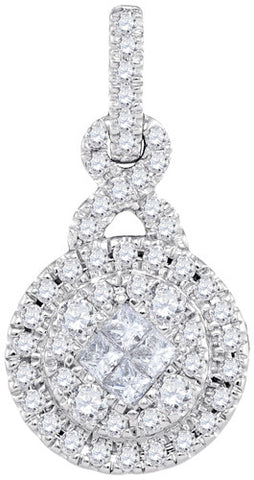 0.50CTW DIAMOND FASHION PENDANT #99782300 - C Diamond King