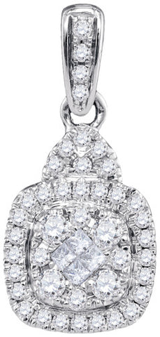 0.44CTW DIAMOND FASHION PENDANT #99789300 - C Diamond King