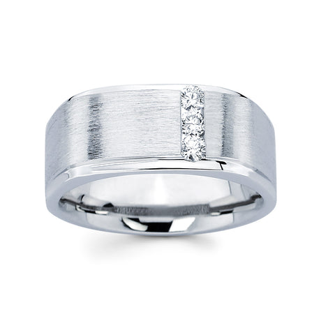 Men's Diamond Ring With 0.25 Carat TW #MR-1909150 - C Diamond King