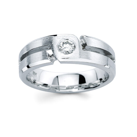 Men's Diamond Ring With 0.25 Carat TW #MR-2499150 - C Diamond King