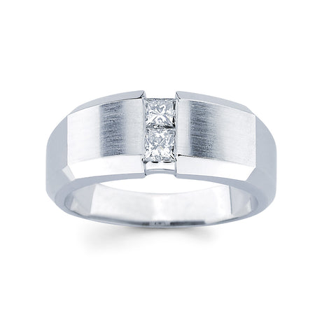Men's Diamond Ring With 0.50 Carat TW #MR-2572150 - C Diamond King