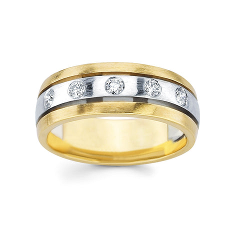 Men's Diamond Ring With 0.35 Carat TW #MR-4347150 - C Diamond King