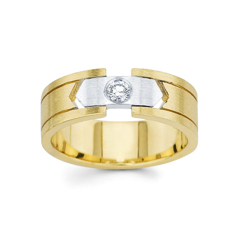 Men's Diamond Ring With 0.15 Carat TW #MR-5007150 - C Diamond King