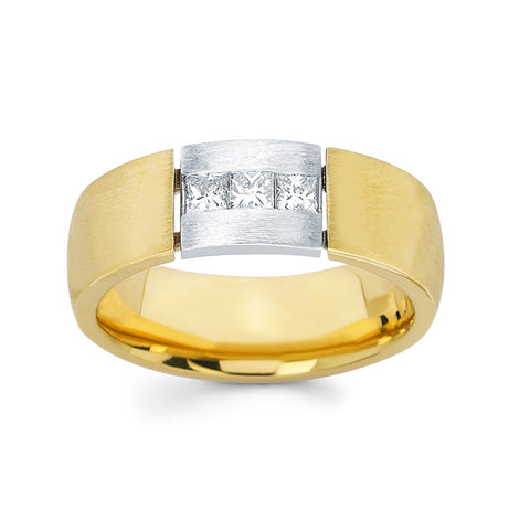 Men's Diamond Ring With 0.45 Carat TW #MR-5012150 - C Diamond King