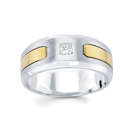 Men's Diamond Ring With 0.25 Carat TW #MR-6369150 - C Diamond King