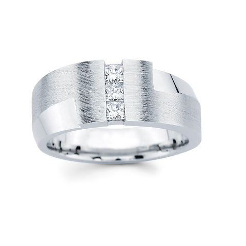 Men's Diamond Ring With 0.25 Carat TW #MR-6650150 - C Diamond King