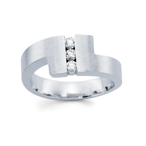 Men's Diamond Ring With 0.25 Carat TW #MR-6652150 - C Diamond King