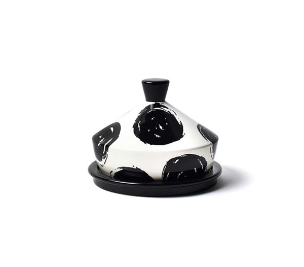Deco Round Butter Dish