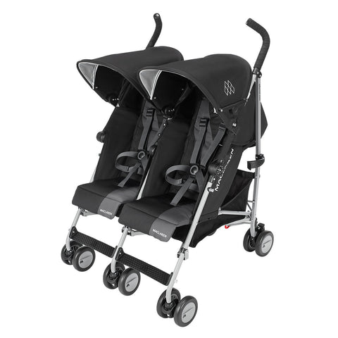 Maclaren Carriola Twin Triumph Negro/Charcoal