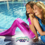 Mermaids123 Kit Cola de Sirena Crystal Purple - Compra en bibiki