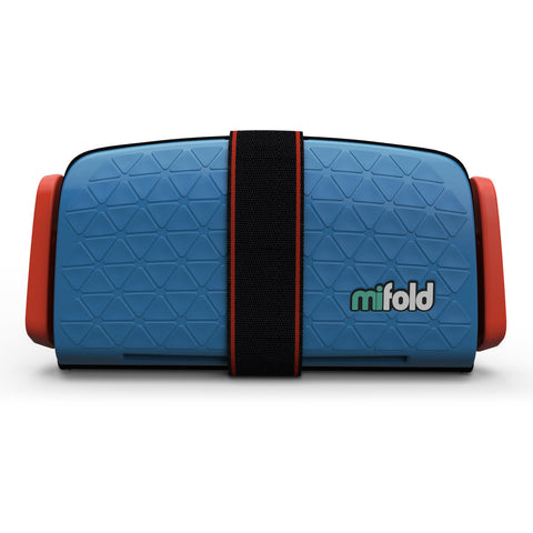 mifold Asiento Booster The Grab and Go Azul Denim