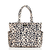 TWELVElittle Pañalera Carry Love Tote Leopardo