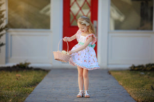 Girls Easter Bunny Hill Dress