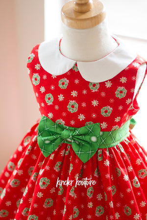 "Christmas ""Wee Bitty"" Holiday Dress - Kinder Kouture"