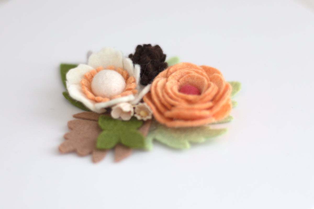 Harvest Bloom Hair Accessory