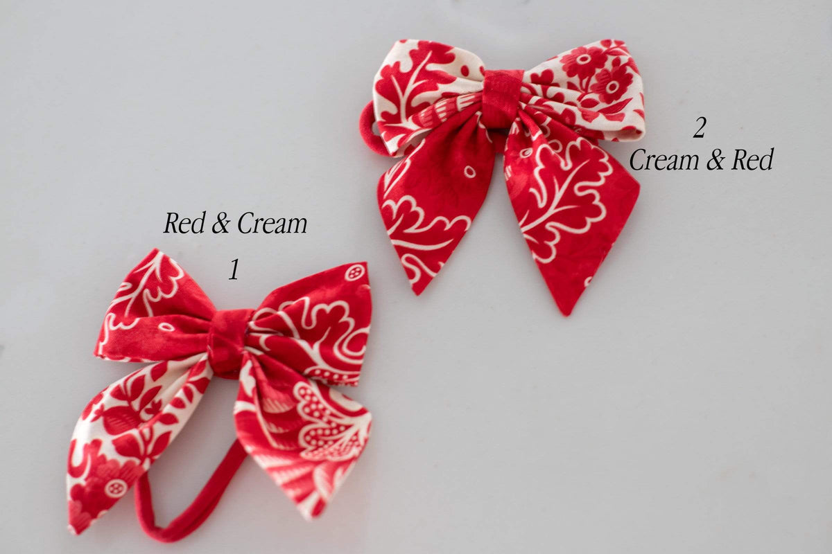 Berry Beautiful Hair Accessory Large Bows
