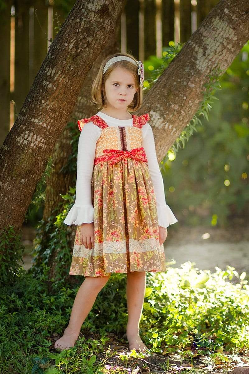 Cinnamon Avalon Dress