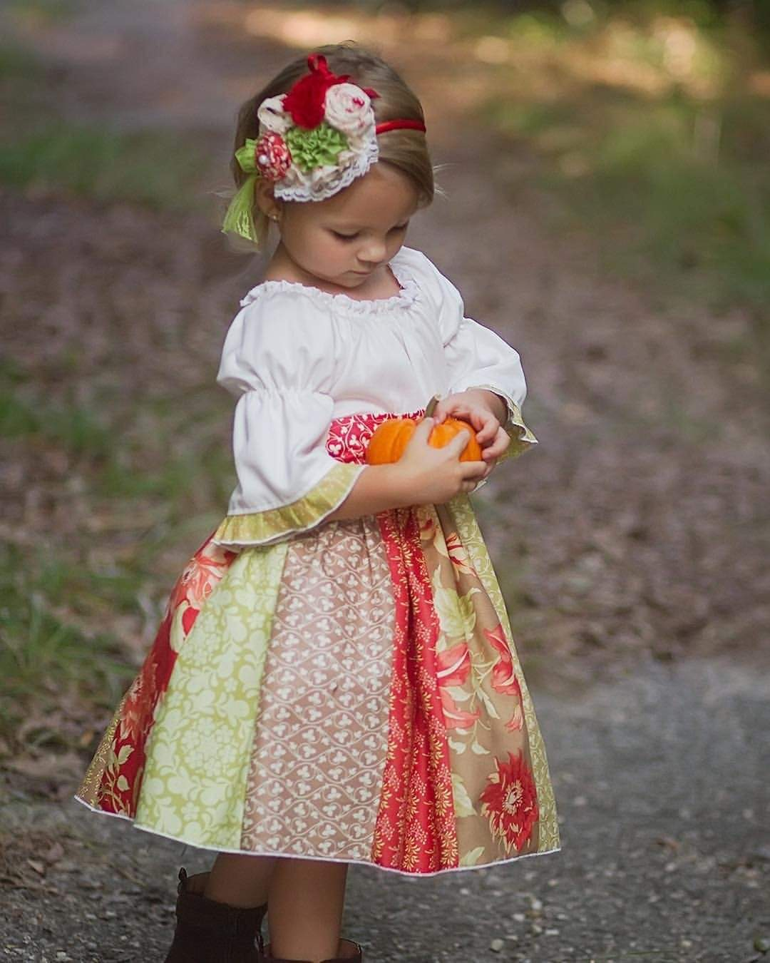 Kinder Kouture Dress Fall Girls Grace  Dress