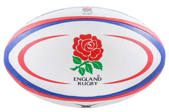 Official England National Rugby Union Team Replica Ball with Rose Logo