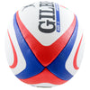 Side view of the Official England Rugby Union Team replica ball by Gilbert