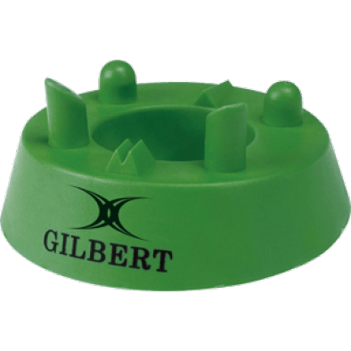 Gilbert 320 Precision Kicking Tee green moulded rubber all ages all levels of ability