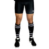 Gilbert Lycra Short performance enhancing compression fit flat lock seams flat elastic waistband black