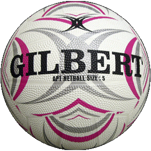 Ball Netball APT Indoor/Outdoor sz4 only Pink